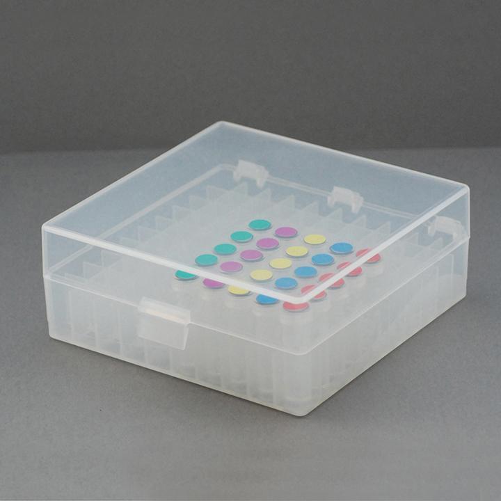マイクロチューブストレージボックス 100ウェル(10 × 10)